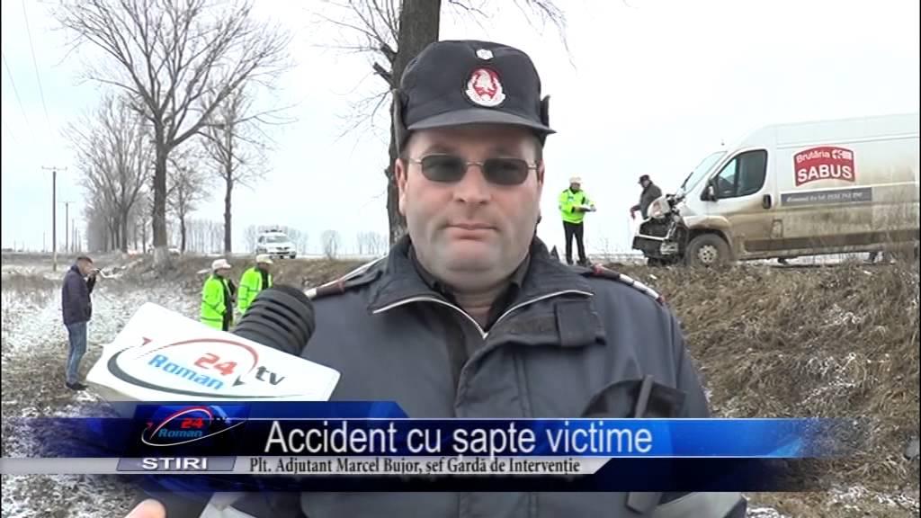 Accident cu șapte victime