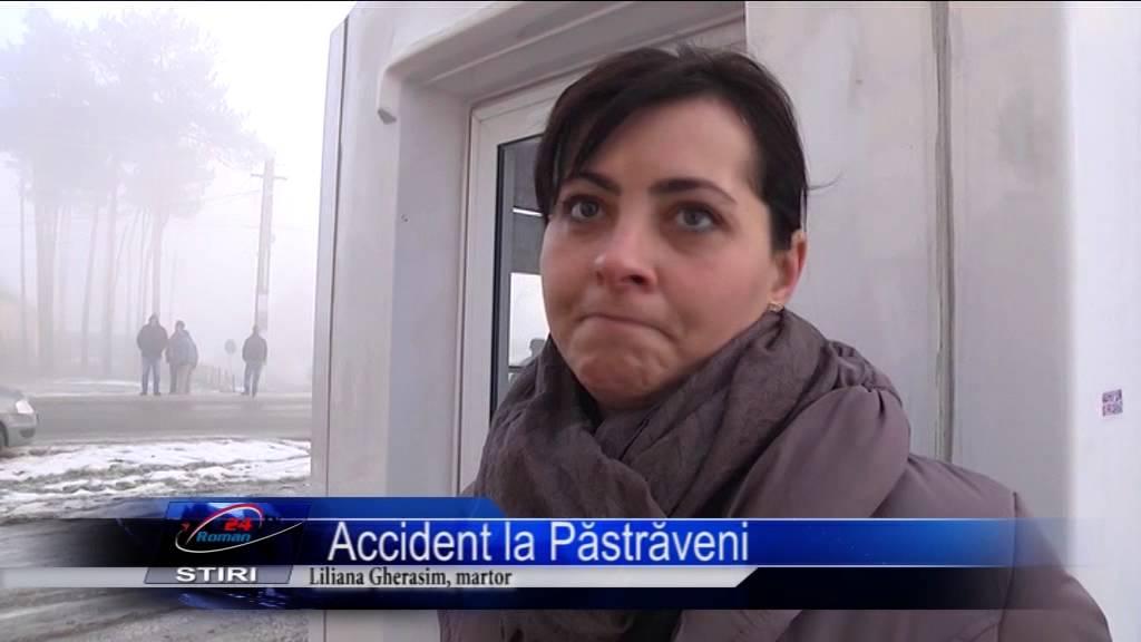 Accident la Păstrăveni