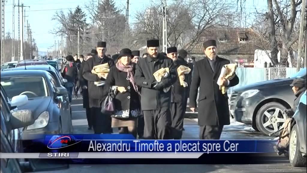Alexandru Timofte a plecat spre Cer