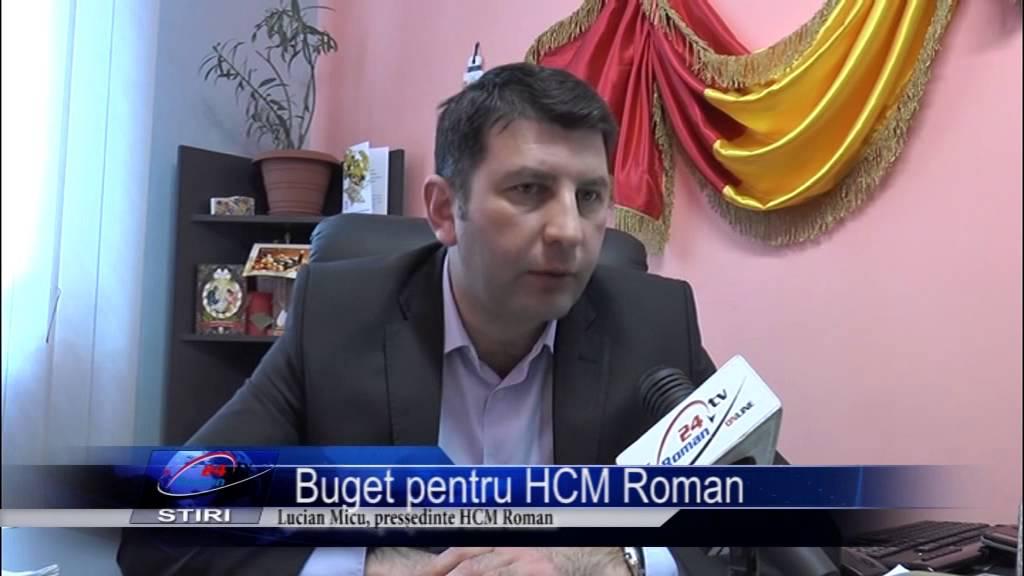 Buget pentru HCM Roman