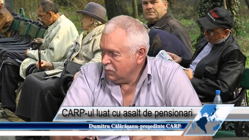 CARP-ul luat cu asalt de pensionari