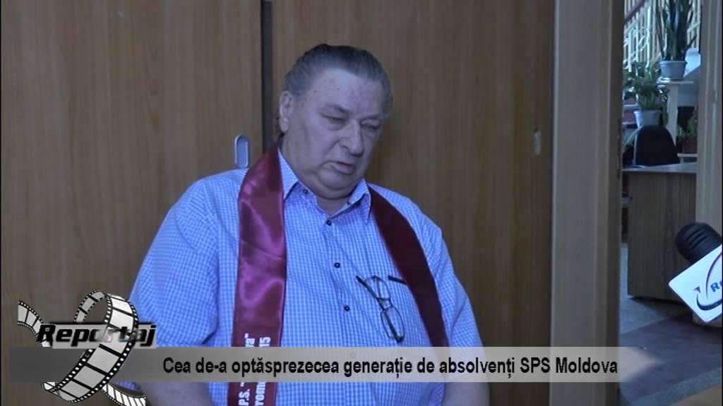 Cea de-a optsprezecea generatie de absolventi ai SPS Moldova
