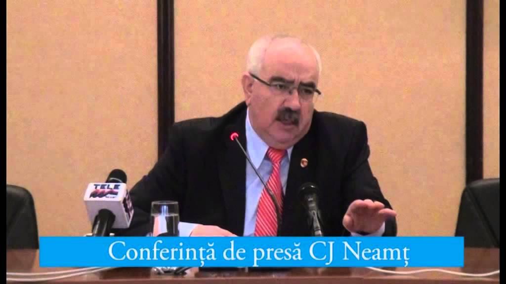 Conferinta de presa Cj Neamt 03.02.2015