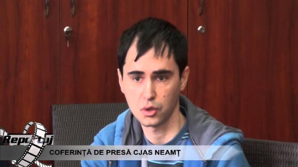 Conferinta de presa CJAS Neamt 18.03.2015