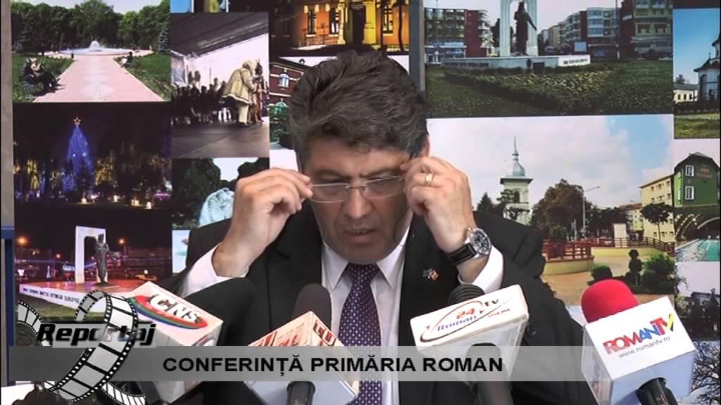 Conferinta de Presa Primaria Roman 29.06.2015