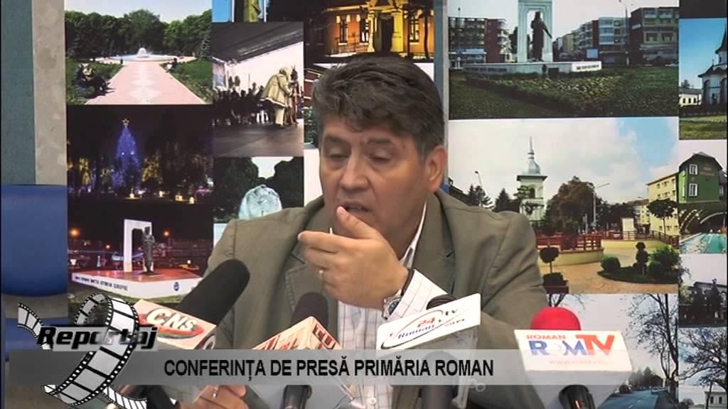 CONFERINTA DE PRESA PRIMARIA ROMAN 08.06.2015