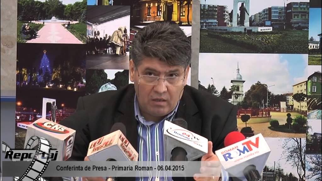 Conferinta de Presa – Primaria Roman – 6.04.2015