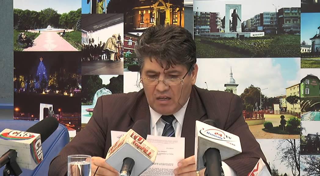 Conferinta de presa Primaria Roman 20.01.2015