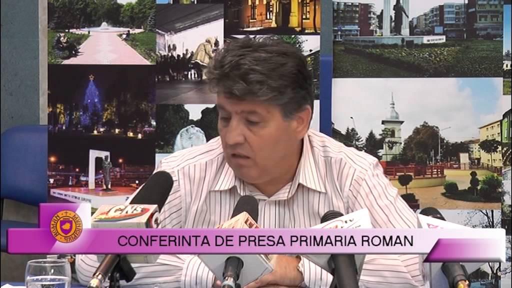 Conferinta de presa Primaria Roman 13.07.2015