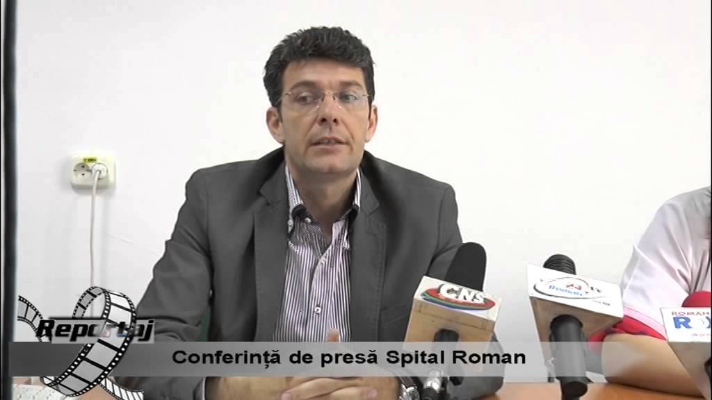Conferinta de presa Spital Roman – 06.05.2015