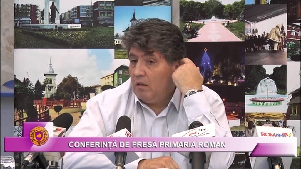 Conferinta presa Primaria Roman 27.07.2015