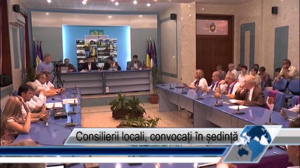 Consilierii locali, convocați în ședință