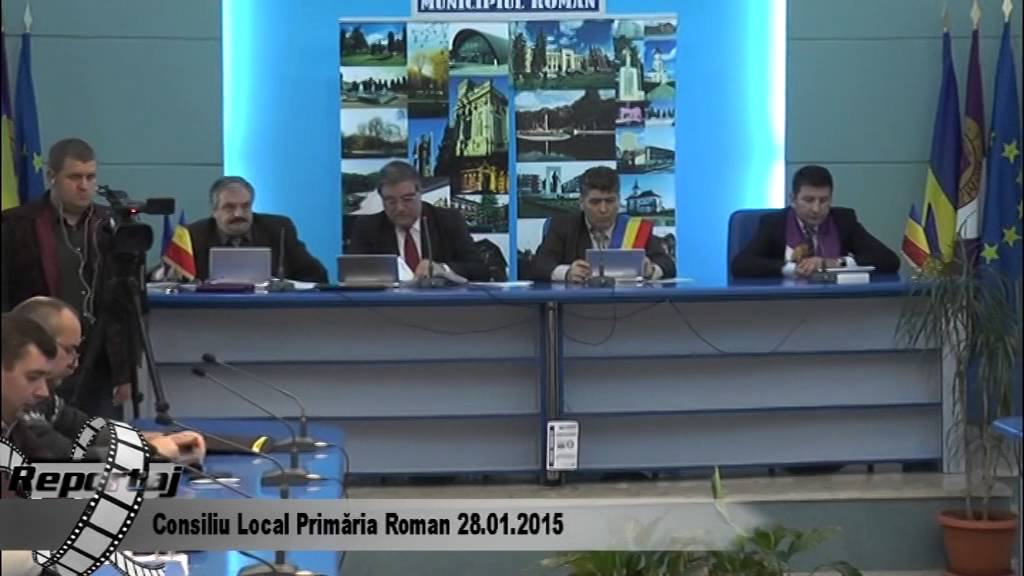 Consiliul Local Roman 28.01.2015