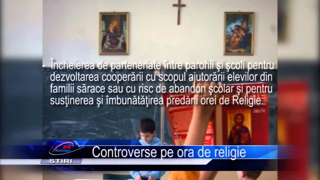Controverse pe ora de religie