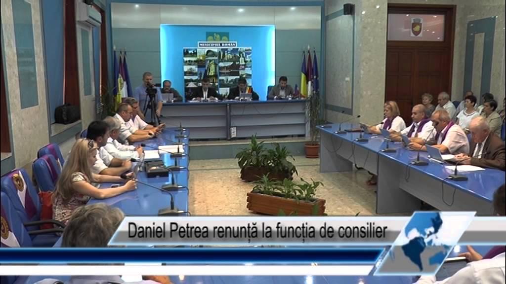 Daniel Petrea renunță la funcția de consilier