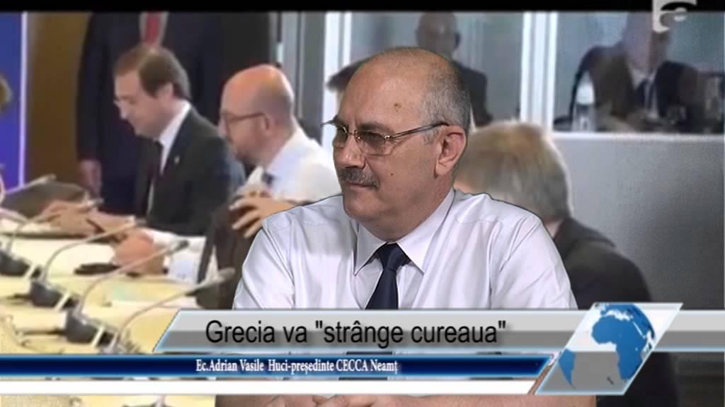 Grecia va strange cureaua