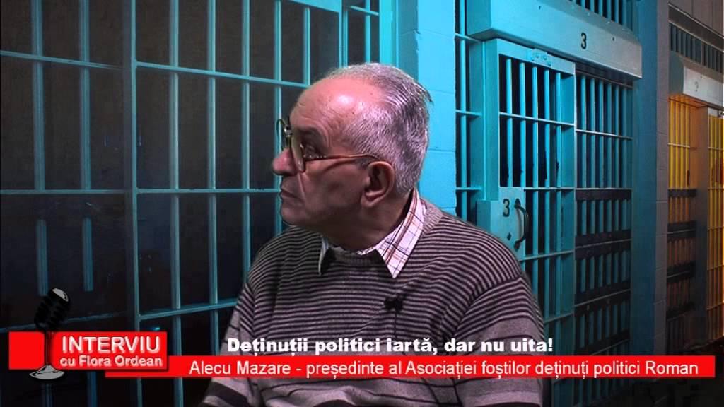 Interviu cu Flora Ordean – Alecu Mazare, presedinte al Asociatiei Fostilor Detinuti Politici Roman, 20.01.2015