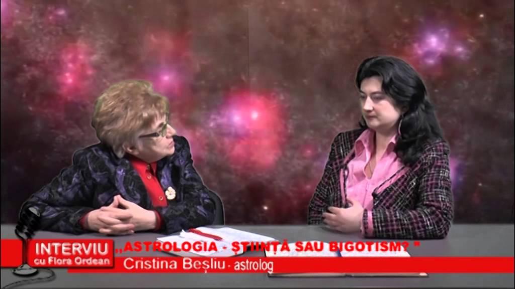 Interviu cu Flora Ordean – Cristina Besliu, astrolog  06.01.2015