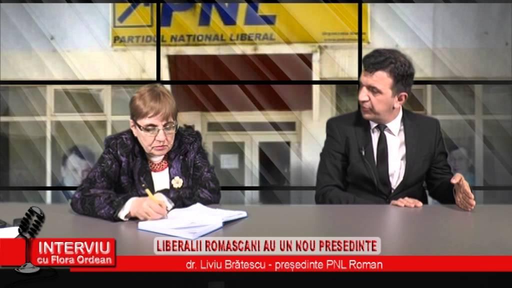 Interviu cu Flora Ordean – Invitat Liviu Bratescu, Presedinte PNL Roman