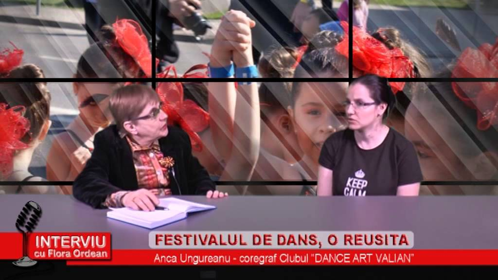 Interviu cu Flora Ordean – invitat Anca Ungureanu, coregraf