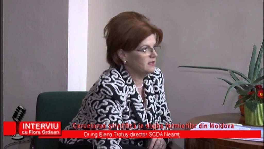 Interviu cu Flora Ordean – Invitat Elena Trotus – Director SCDA Secuieni