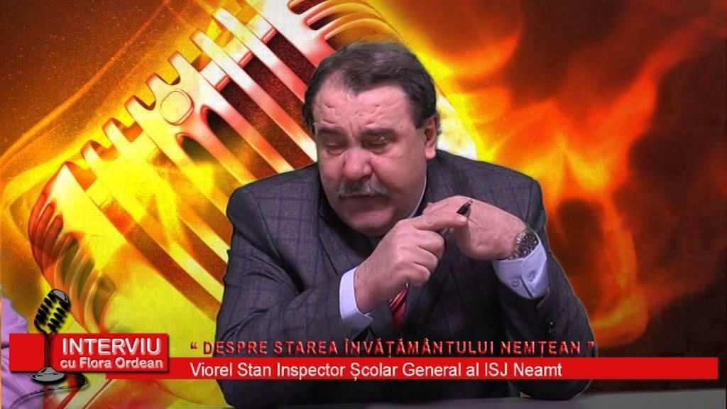 Interviu cu Flora Ordean – invitat Viorel Stan, Inspector General I.S.J. Neamt