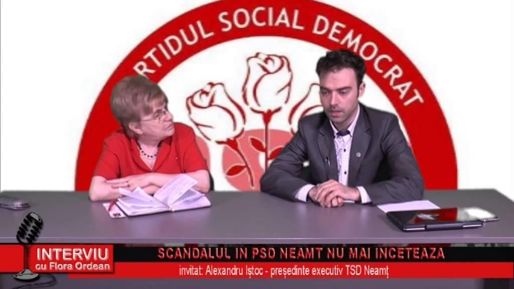 Interviu cu Flora Ordean – invitat Alexandru Istoc, presedinte executiv TSD Neamt