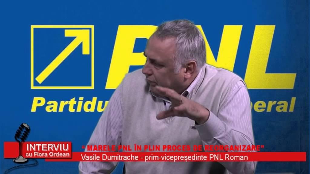 Interviu cu Flora Ordean – Vasile Dumitrache, prim vicepresedinte PNL Roman