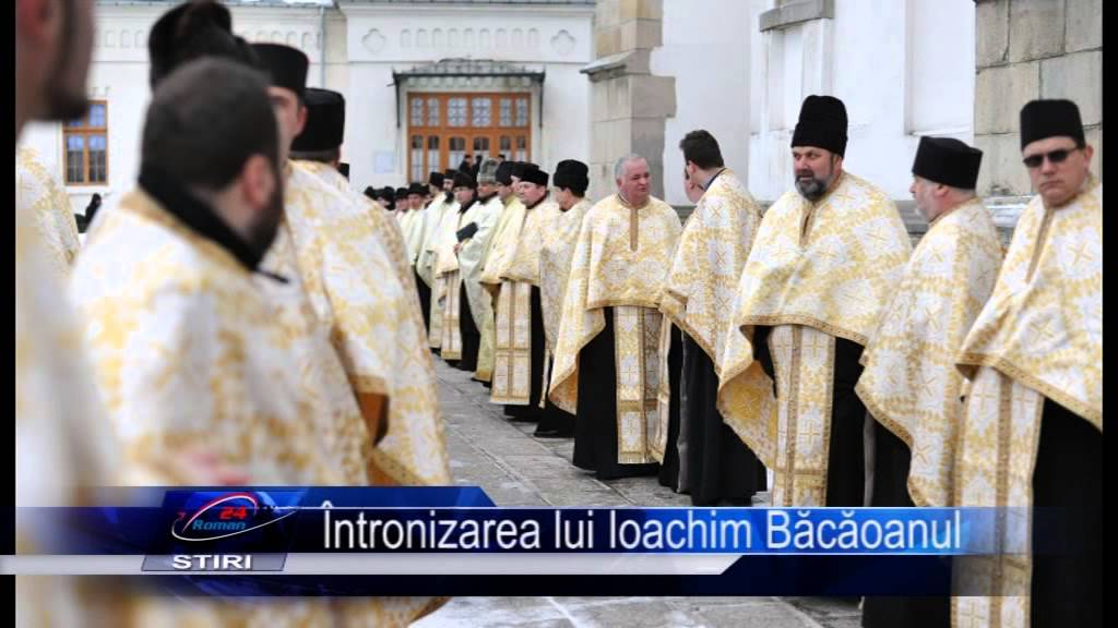 Intronizarea lui Ioachim Bacoanu