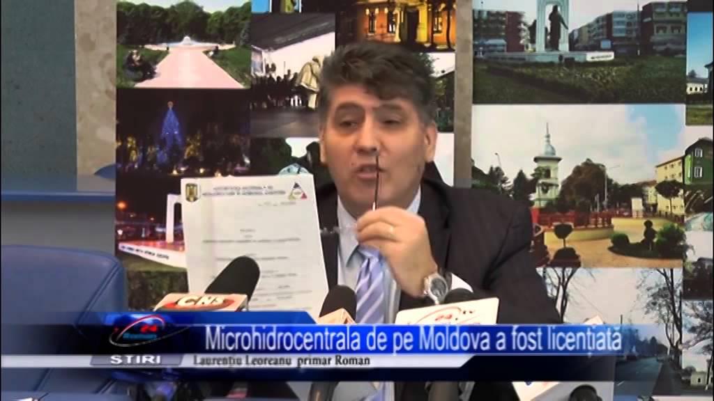 Microhidrocentrala de pe Moldova a fost licențiată