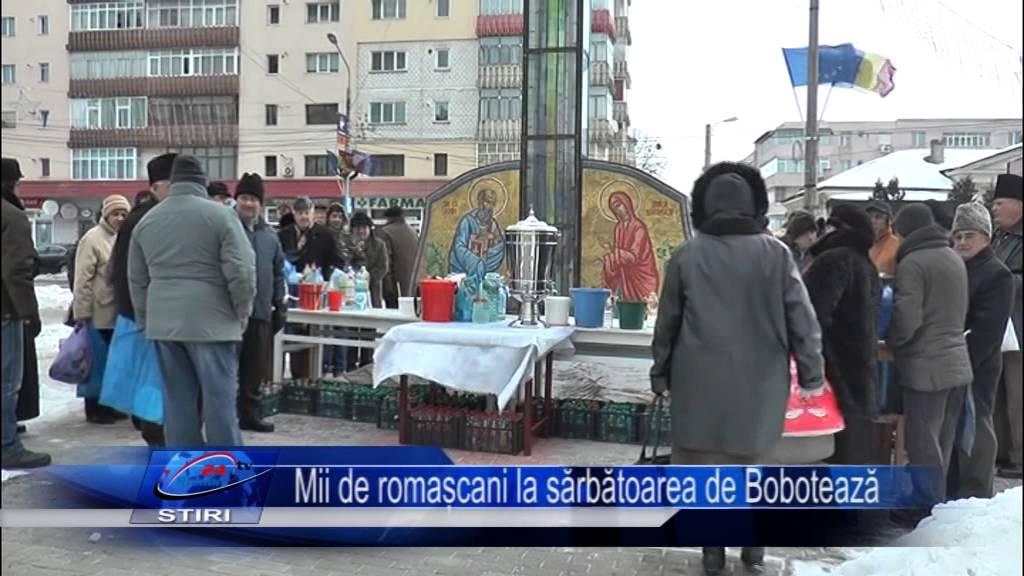 Mii de Romascani la slujba de Boboteaza