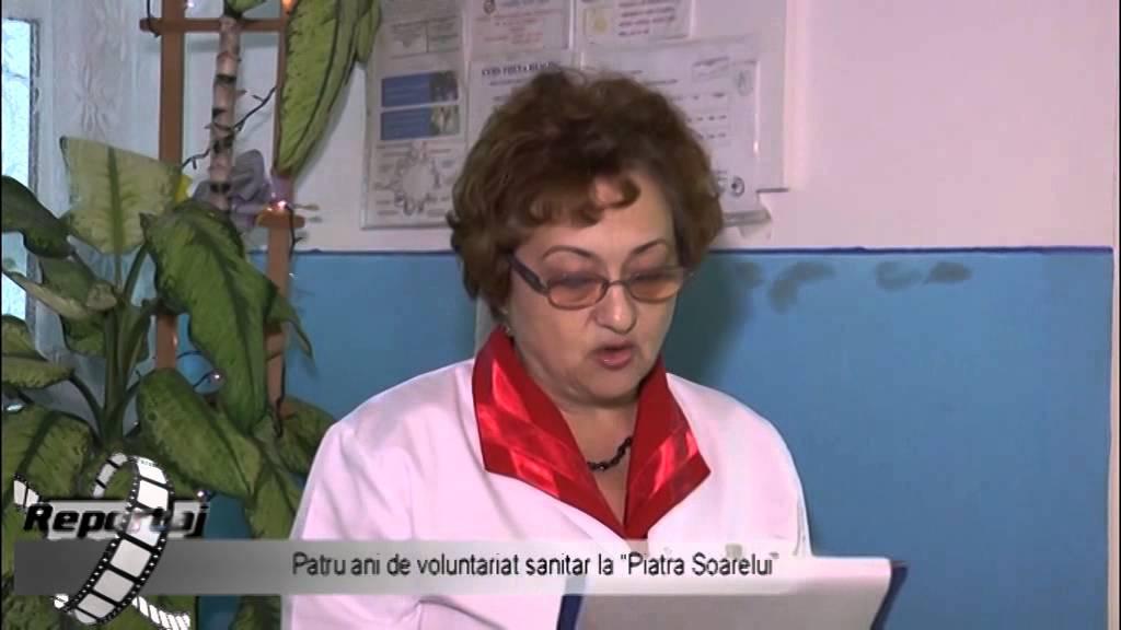 Patru ani de voluntariat sanitar