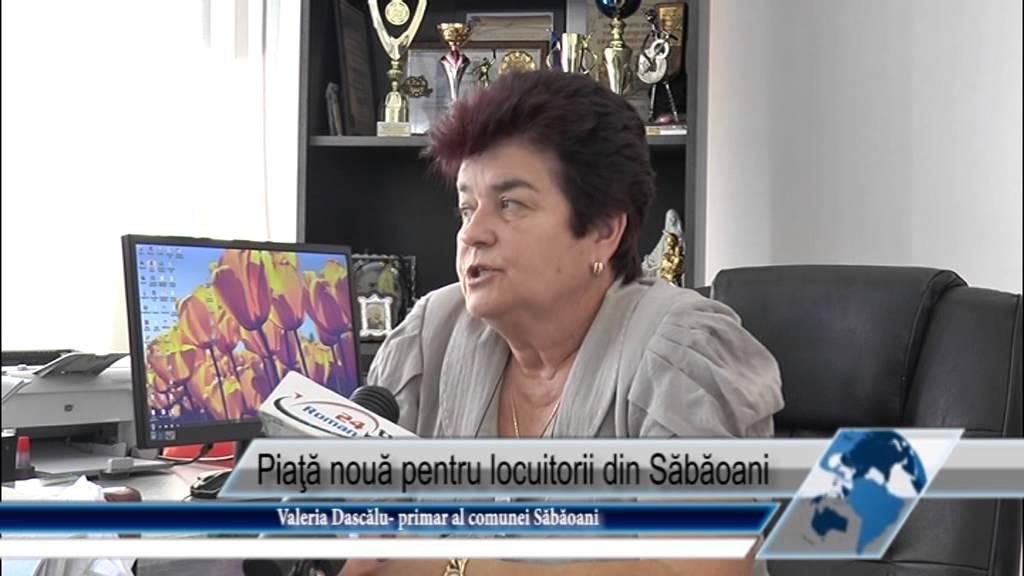 Piata noua pentru locuitorii din Sabaoani