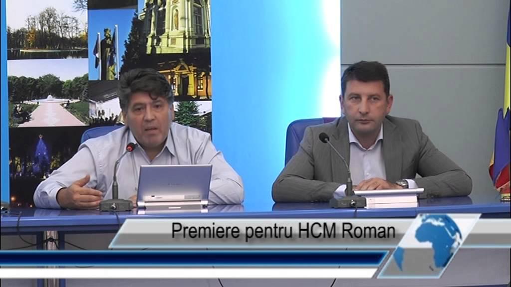 Premiere pentru HCM Roman