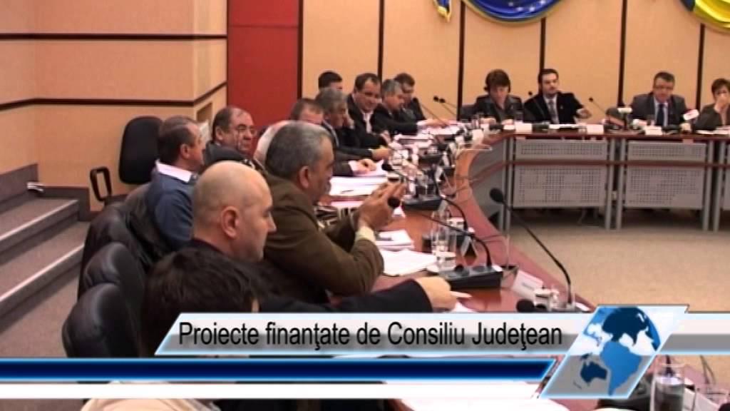 Proiecte finanţate de Consiliul Judeţean