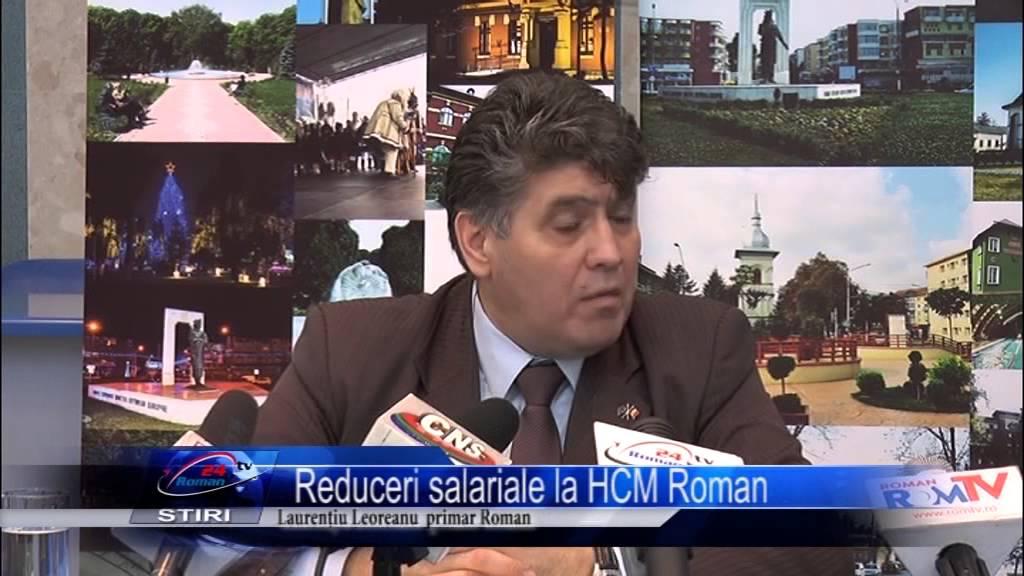 Reduceri salariale la HCM Roman