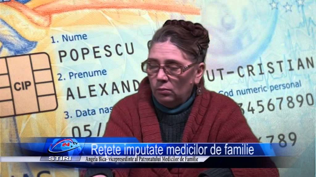 Reţete imputate medicilor de familie