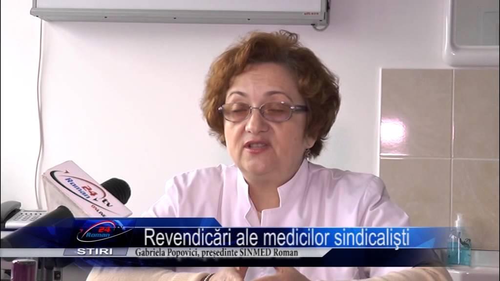 Revendicări ale medicilor sindicalişti