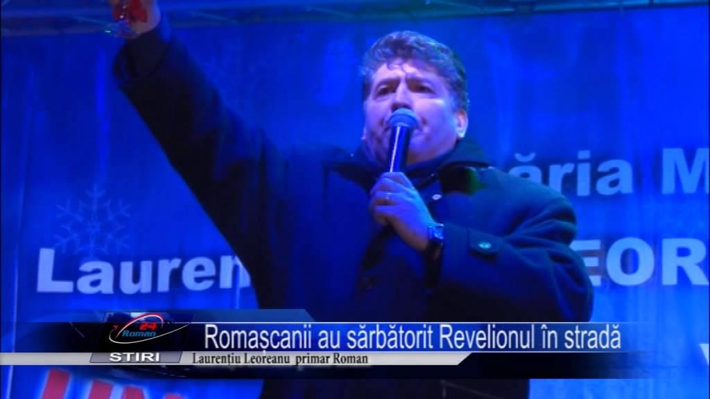 Romascanii au sarbatorit Revelionul in strada