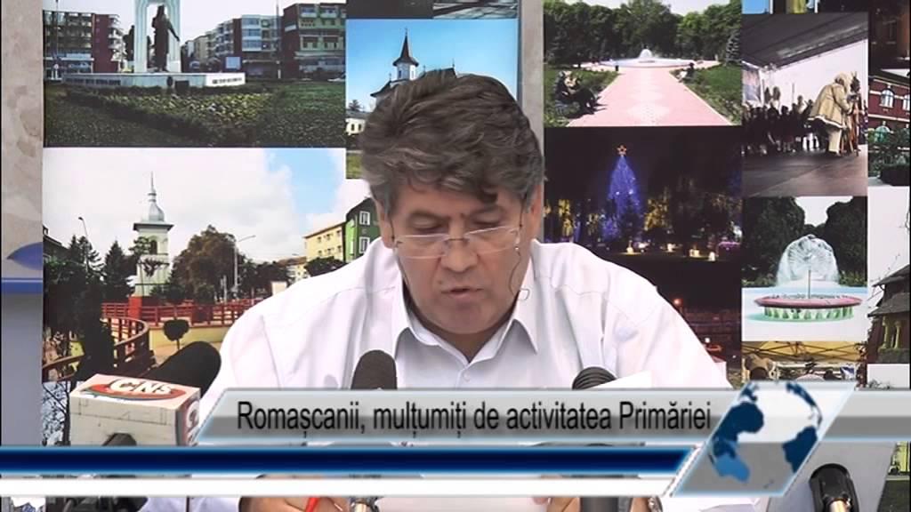 Romașcanii, mulțumiți de activitatea Primăriei