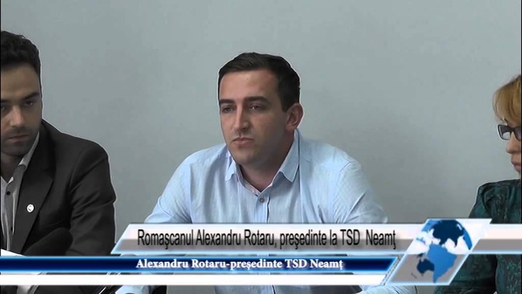 Romaşcanul Alexandru Rotaru, preşedinte la TSD Neamţ