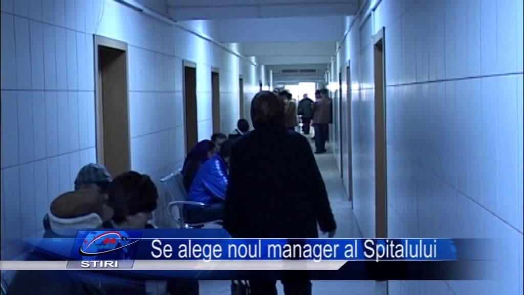 Se alege noul manager al Spitalului