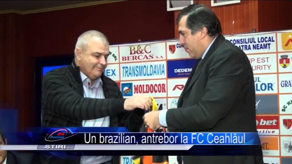 Un brazilian, antrenor la FC Ceahlăul