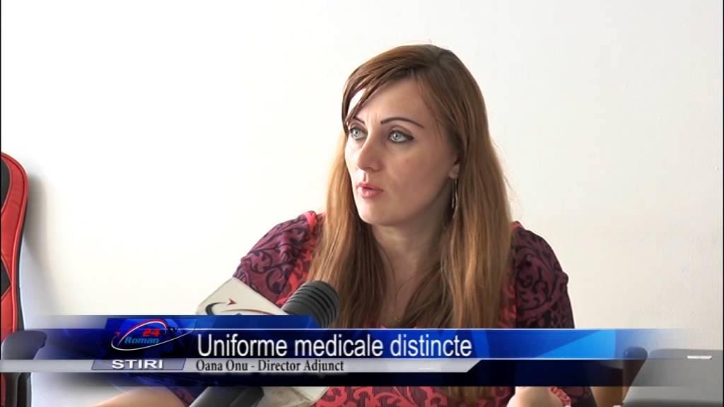 Uniforme medicale distincte