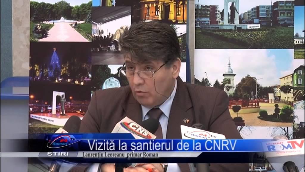 Vizită la șantierul de la CNRV