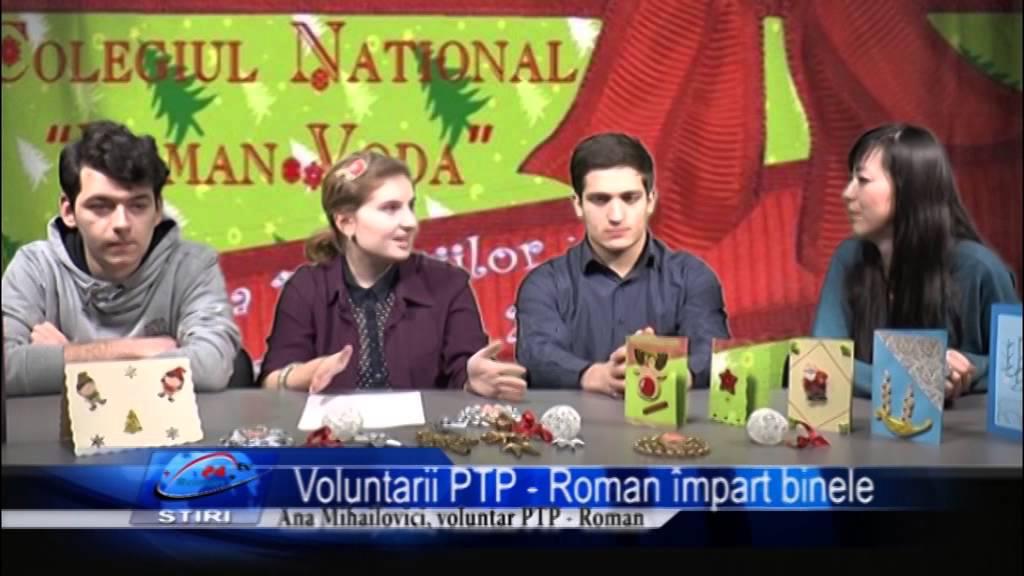 Voluntarii PTP Roman impart binele