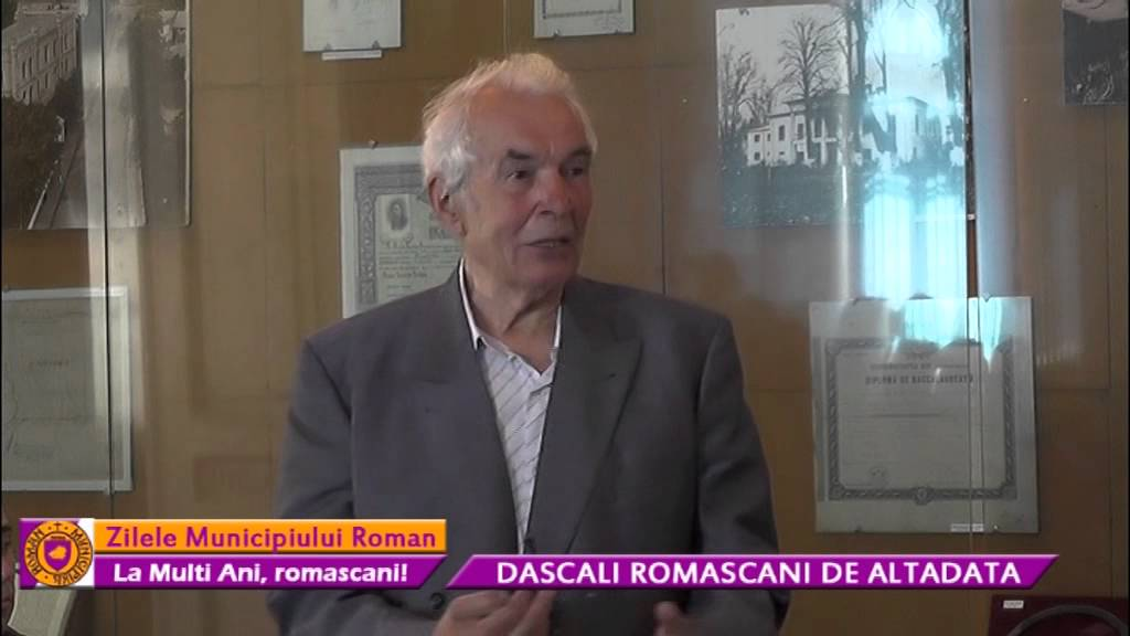Zilele Municipiului Roman – Dascăli romaşcani de altădată