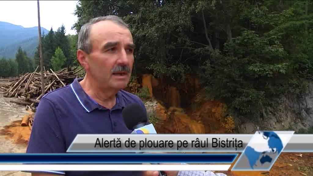 Alertă de poluare pe râul Bistrița