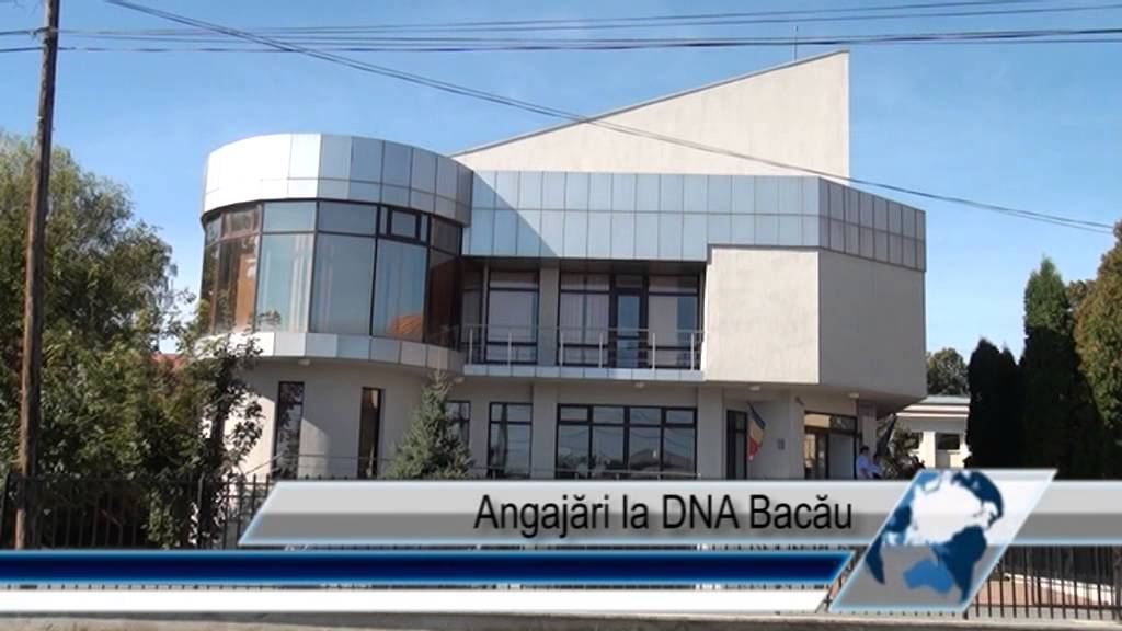Angajări la DNA Bacău