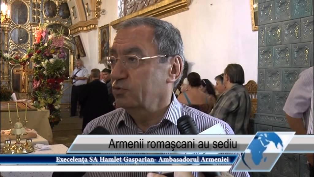 Armenii romaşcani au sediu
